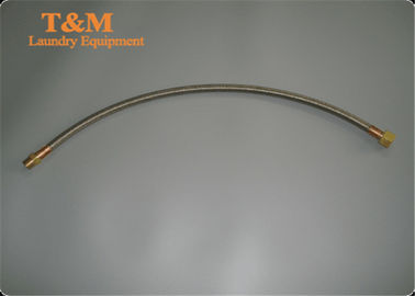 China Steam Hose Laundry Equipment Parts 55cm Commercial Stainless Steel For Shop supplier