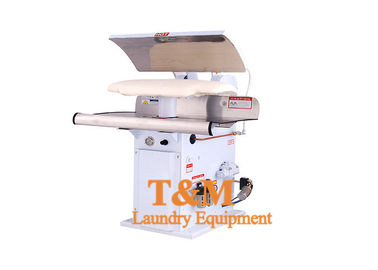China Hospital Laundry Shirt Press Steam Heating Dry Clean With DN 15 Inlet Outlet supplier