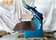 "China Dryclean Steam Garment Press , 47"" Pant Legs Japan Dark Bule Automatic Iron Press factory"