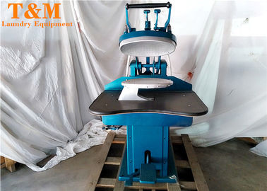 Dryer Clean Used Dry Cleaning Machine Blue For Shirt Sleeves Garment Factory