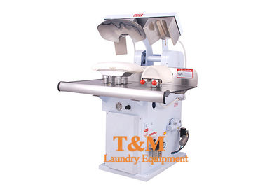 China Hot Head Laundry Shirt Press Machine , Collar Cuff Dry Cleaning Iron Press factory