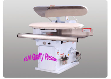 45 47 Inch Steam Garment Press , Steel Head Industrial Steam Press Machine